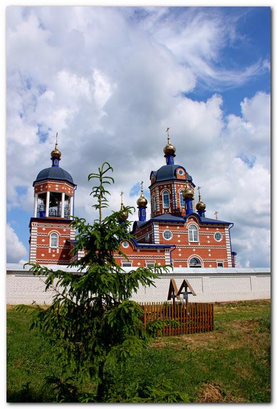 Симбирская митрополия, Барышская епархия, Жадовский мужской монастырь, Казанской