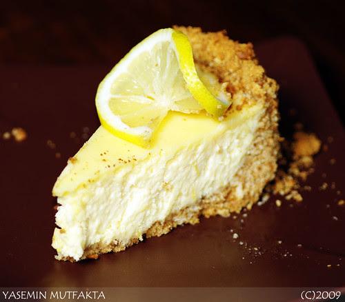 Limonlu Peykek / Lemon Cheesecake