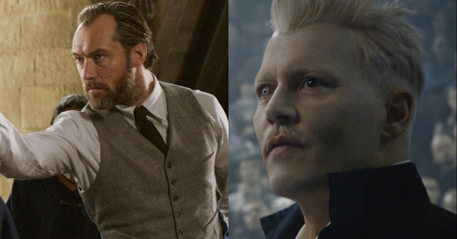 Jude Law Johnny Depp Fantastic Beasts