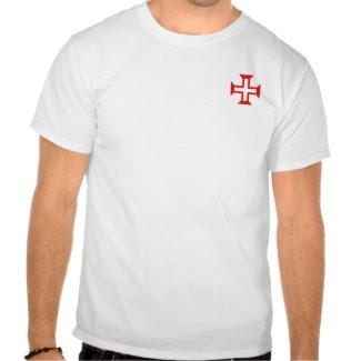 Order of Christ Cross Shirt zazzle_shirt