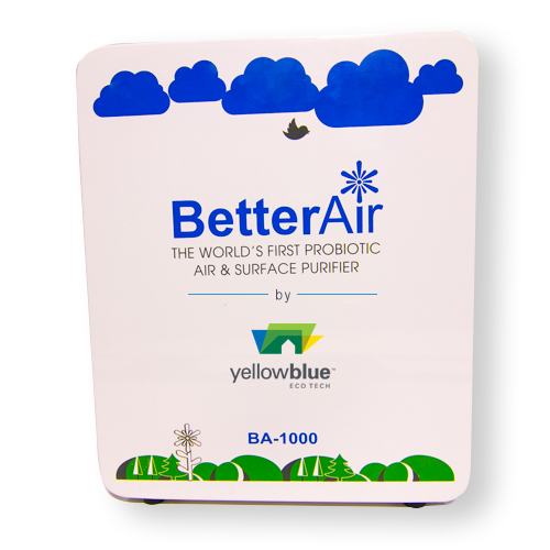 Probiotic Air Purification Systems - yellowblue