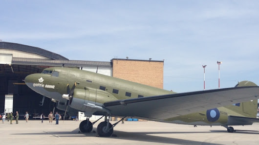 Historic aircraft unveiled at 17 Wing in Winnipeg