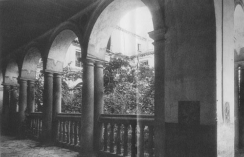 Convento de Santo Domingo el Real (Toledo) a principios del siglo XX. Foto Rodríguez