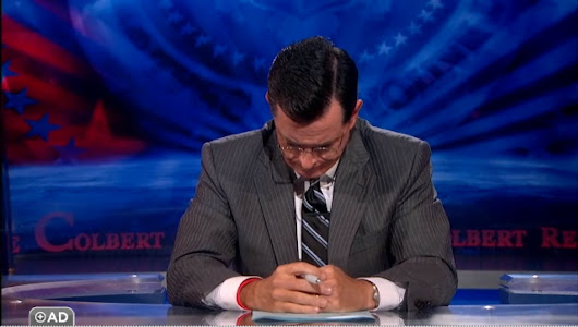 Colbert Takes On Out-Mayor Johnny Cummings In Amazing 'People Who Are Destroying America' Segment (VIDEO)