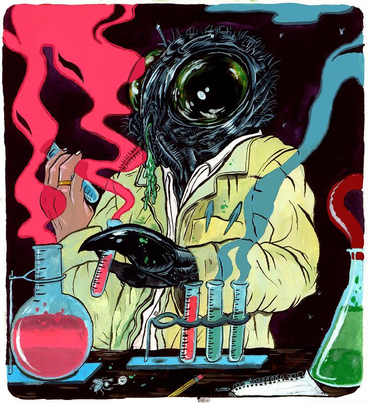Trevor Henderson - The Fly