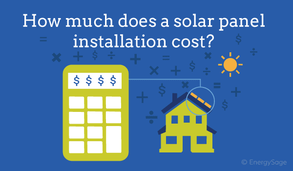 how much does a solar panel installation cost