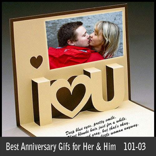 Anniversary Gifts: 2013