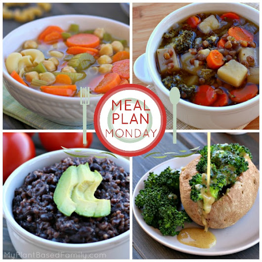 September 19, 2016 Meal Plan - My Plant-Based Family