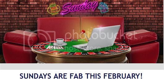 Sundays Are Fab In February -Collect 50% Match Bonus At Astralbet Casino!