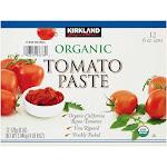 Kirkland Signature Organic Tomato Paste, 6 Ounce (12 Count)