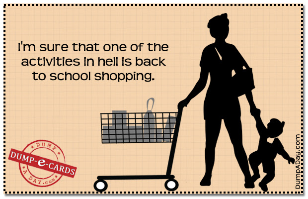 Quotes About Back To School Shopping 16 Quotes