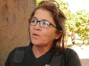 Dinorá Simas, diretora da Penitenciária Estadual de Alcaçuz/RN (Foto: Ricardo Araújo/G1)