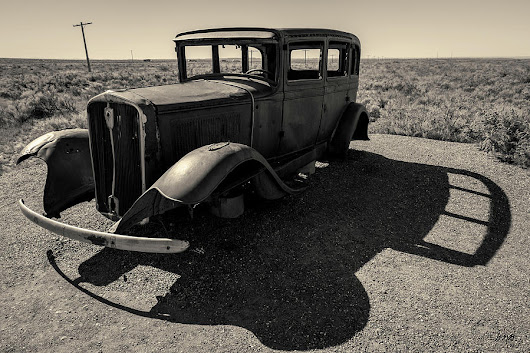 Old Vehicle Vi Toned by David Gordon