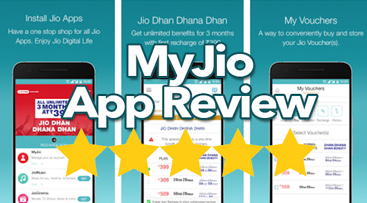 My Jio App Review - The best way to track down your Jio Data usage