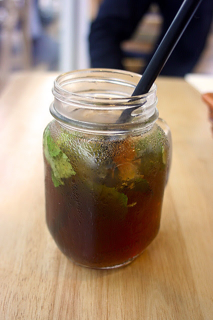 Matta Ragazza - peach tea with mint