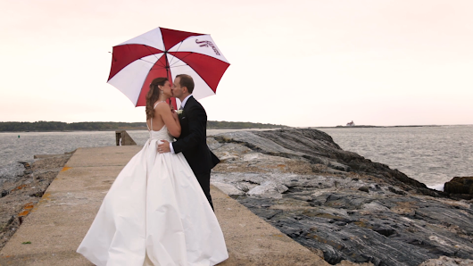Meredith + Dan | Wentworth By The Sea Hotel | New Hampshire Wedding Videographer