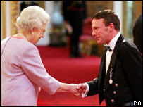 The Queen and John Smeaton