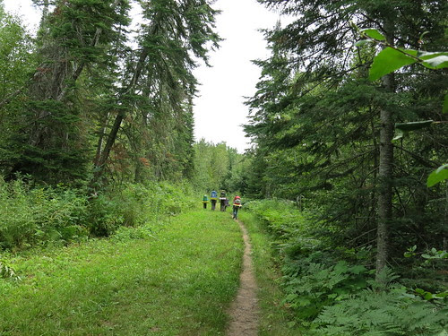 Pincushion Mountain and Devil Track River. Superior Hiking Trail. August 6-7, 2015