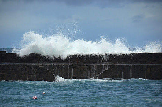 Big waves on Tenerife are spectacular and dangerous |