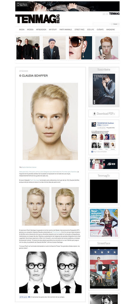 Tendencias Fashion Mag Pachi Santiago Copying Claudia