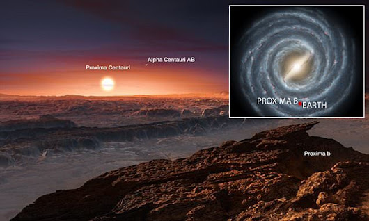 Proxima b 'may well' harbour life and has oceans