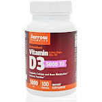 Jarrow Formulas - Vitamin D3 - 100 Softgels 5000 IU