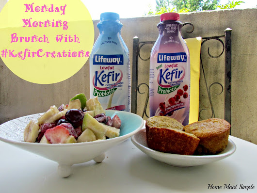 Monday Morning Brunch with Lifeway Kefir #KefirCreations #shop | Home Maid Simple