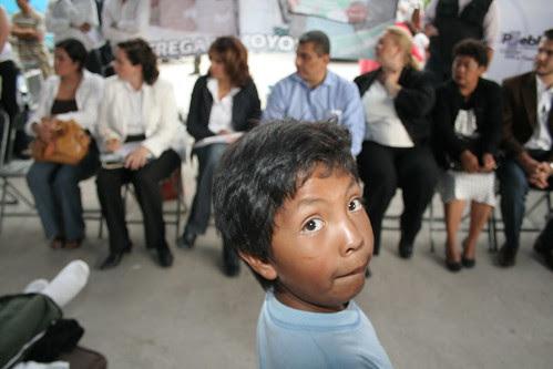 Gira colonias de Puebla SNTE y Nuevo Plan de Ayala, 28-07-08.