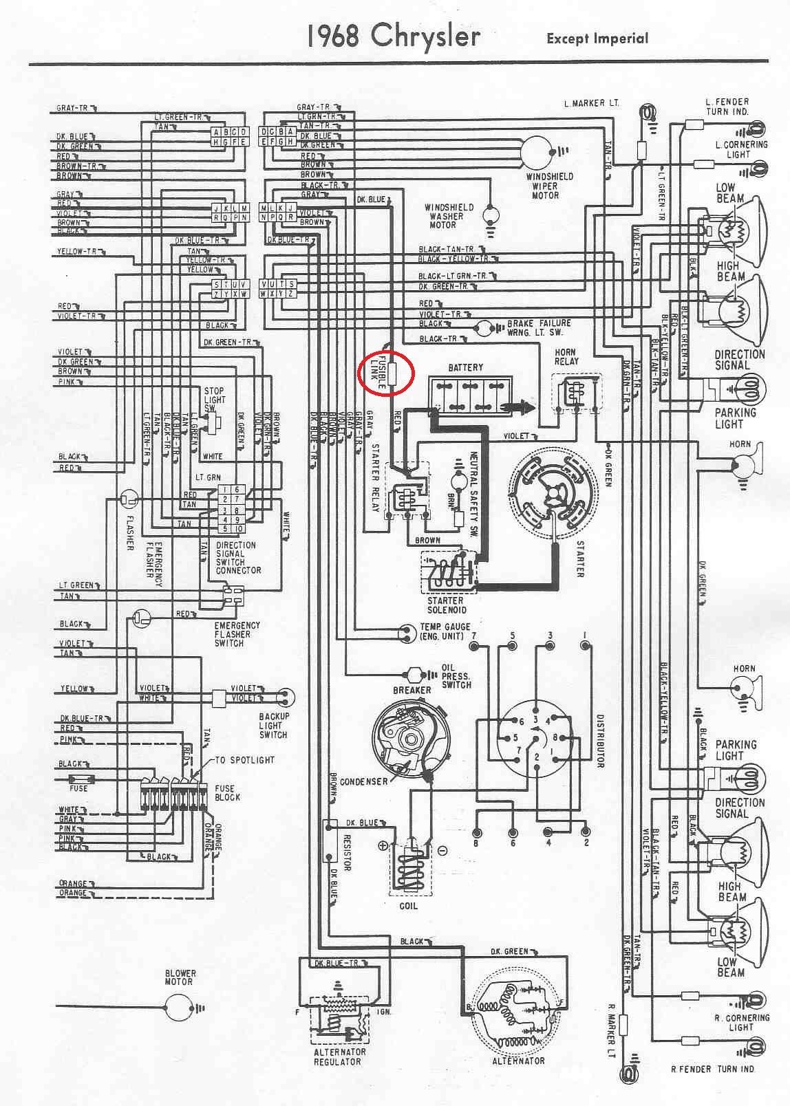72 dodge wiring harness diagram image 3