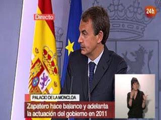 """Ver vídeo 'Zapatero: """"CNN+ es la cadena que más seguía""""'"""