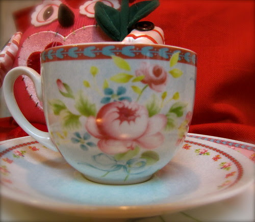 Rose Garden Tea Set