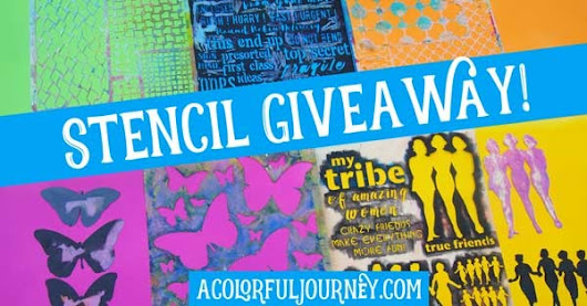 New Video and Stencil Giveaway! - Carolyn Dube