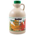 Kirkland Signature Organic Pure Maple Syrup, 33.8 oz