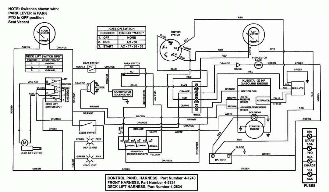 Basic Diesel Engine Wiring Diagram