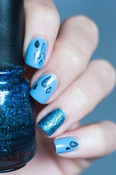 Do It Yourself Nail Designs: Do It Yourself Just Like That: 50 Amazing Nail Art Designs Fo