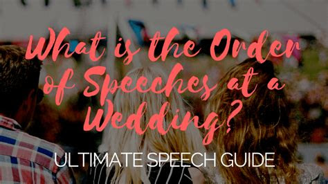 ultimate guide  writing delivering  great wedding