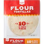 "8"" Flour Tortilla Taco Size 10ct - Market Pantry"
