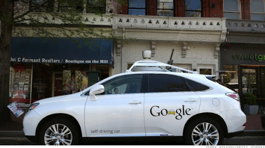 Injuries in Google self-driving car accident