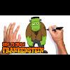 Frankenstein Drawing Simple