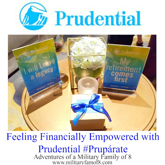 Feeling Financially Empowered with Prudential #Prupárate #ad