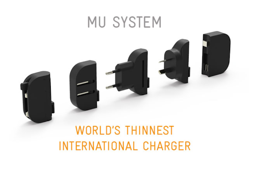 World's Thinnest International Charger