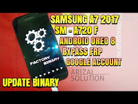 Bypass Frp Unlock Google Account Samsung A7 2017 SM-A720F Nougat 7 Oreo 8 Combination Rom 2018
