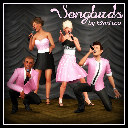 Poses: Songbirds