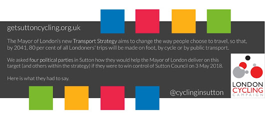 Sutton and the Mayor's Transport Strategy 2018