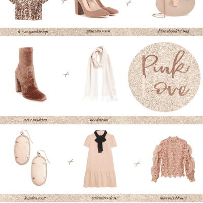 Valentine's Day in Rosé - Little Blue Deer Custom Blog Design and Website Design