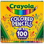 Crayola - Colored pencil - assorted colors - pack of 100