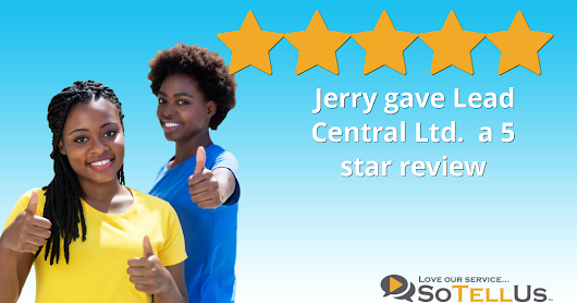 Jerry M gave Lead Central Ltd. a 5 star review