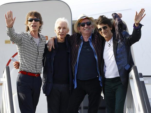 Rolling Stones chegam a Havana para primeiro show da história da banda em Cuba (Foto: Reuters/Ivan Alvarado )