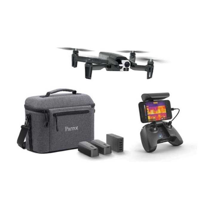 On-sale Updated Version New Parrot ANAFI Thermal 4K Camera Drones Profesional 2 Km Range Via WiFi Drone GPS USB-C Port Charging