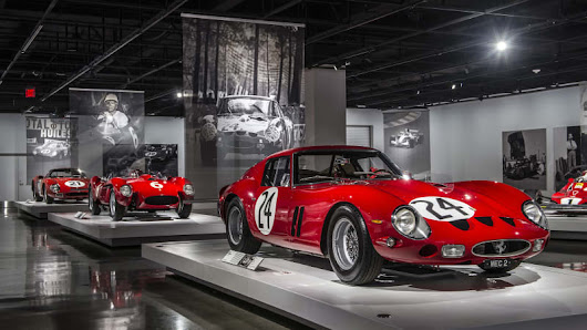 Seeing Red: 70 Years of Ferrari at the Petersen Museum